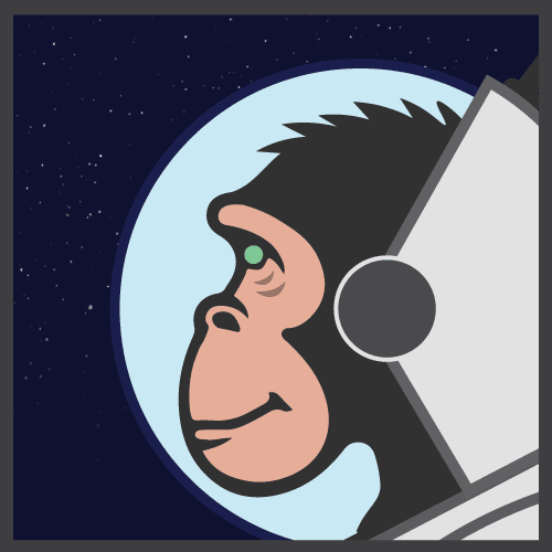 Space X-Chimp logo